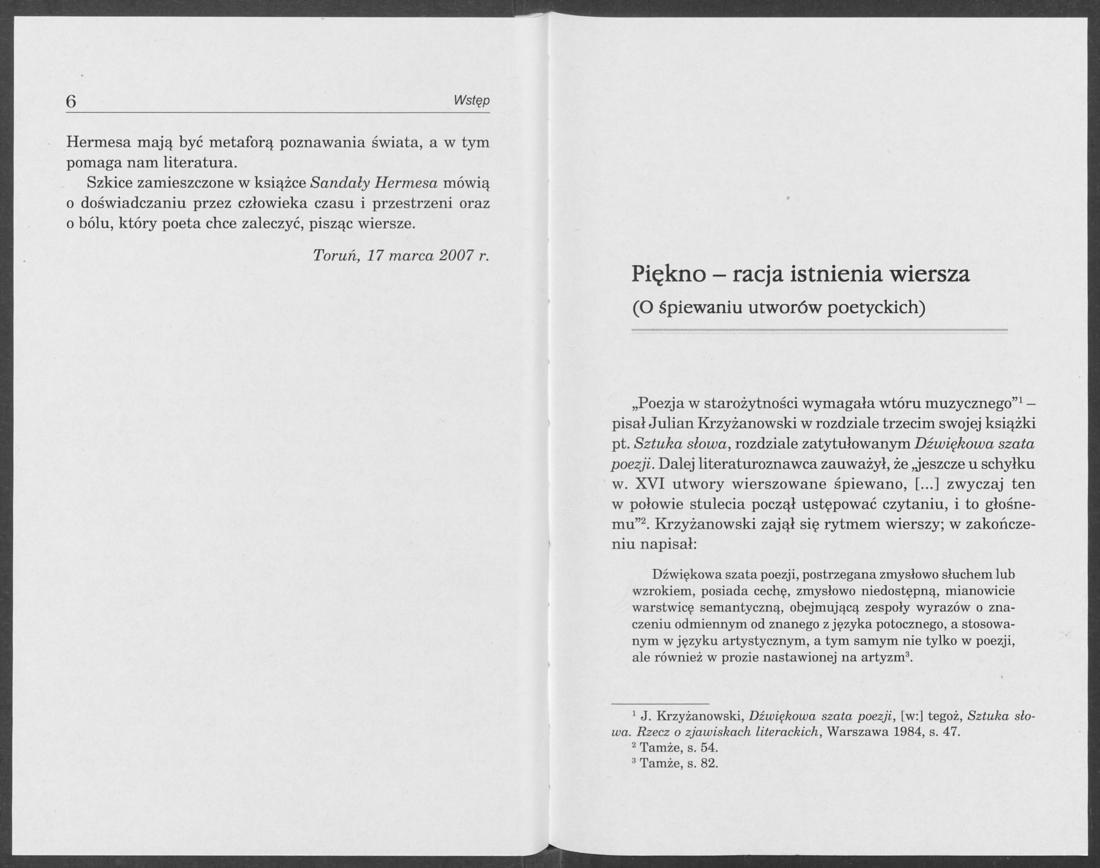 Otwórz Książkę Sandały Hermesa Szkice O Poezji Paweł Tański